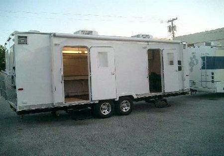 Movie rental trailers